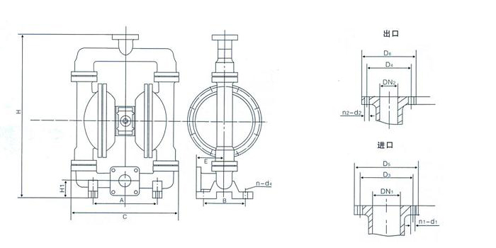 qby气动隔膜泵_生产厂家图片