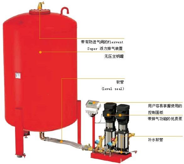 囊式膨胀定压气压罐选择参考-厂家图片