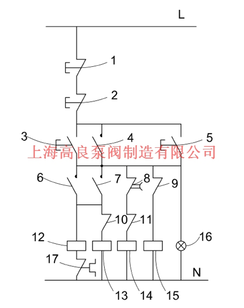 附图是新型的电路原理图