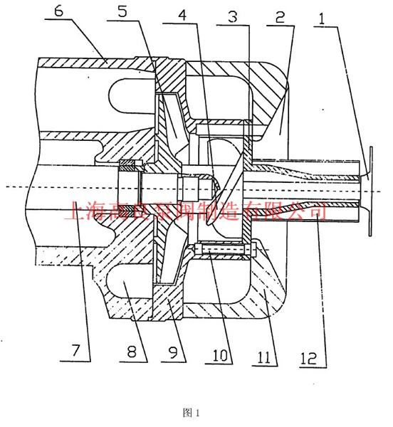 离心泵的切割装置结构设计